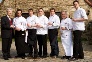 Die Mannschaft (v.l.) Wetzel, Woltersdorf, Lübke, Mantovani, Großpietsch, Rütze, Schöning