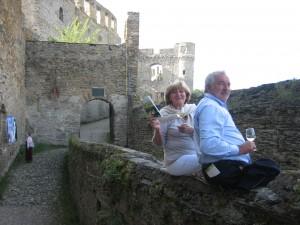 Gäste des Weinforum auf Burg Rheinfels (Quelle: Mittelrhein-Wein e.V.)