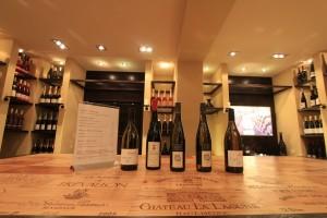 Weinauswahl für die Weinreise im Strandhotel Ostseeblick und Restaurant Bernstein