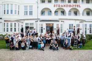 Das Team des Strandhotel Glücksburg (Quelle: Strandhotel Glücksburg)