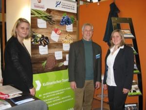 von links nach recht: Christina Warter, Gerald Wetzel und Jasmin Eitzenberger