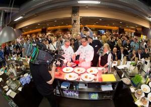 Live-Wettbewerb beim Vorfianale zum Koch des Jahres in Achern  (Foto Copyright: Melanie Bauer Photodesign)