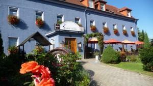 """Das Logis-Hotels """"L'Auberge 'Gutshof'"""" in Bischofswerda in Sachsen. (Copyright: Logis-Hotel """"L'Auberge 'Gutshof'"""")"""