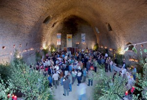 Ambiente des Weinforums (Foto: Mittelrhein-Wein e.V.)