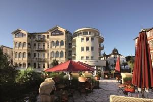 Frondansicht Hotel Das Ahlbeck